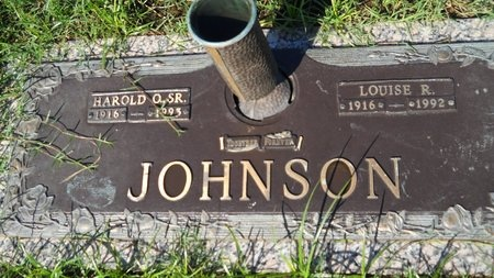 JOHNSON, LOUISE R - Bossier County, Louisiana | LOUISE R JOHNSON - Louisiana Gravestone Photos