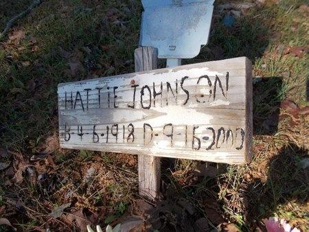 JOHNSON, HATTIE - Bossier County, Louisiana | HATTIE JOHNSON - Louisiana Gravestone Photos