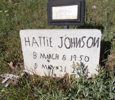JOHNSON, HATTIE MAE - Bossier County, Louisiana | HATTIE MAE JOHNSON - Louisiana Gravestone Photos