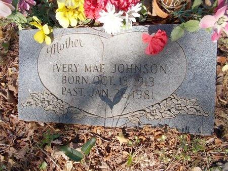 JOHNSON, IVERY MAE - Bossier County, Louisiana   IVERY MAE JOHNSON - Louisiana Gravestone Photos