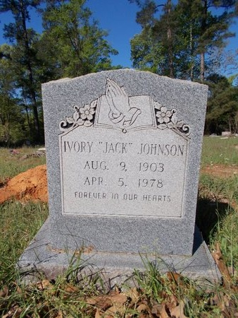 "JOHNSON, IVORY ""JACK"" - Bossier County, Louisiana 