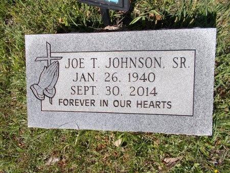 JOHNSON, JOE T., SR - Bossier County, Louisiana | JOE T., SR JOHNSON - Louisiana Gravestone Photos