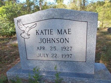 JOHNSON, KATIE MAE - Bossier County, Louisiana | KATIE MAE JOHNSON - Louisiana Gravestone Photos