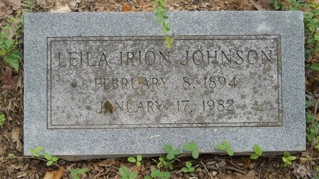JOHNSON, LEILA - Bossier County, Louisiana | LEILA JOHNSON - Louisiana Gravestone Photos