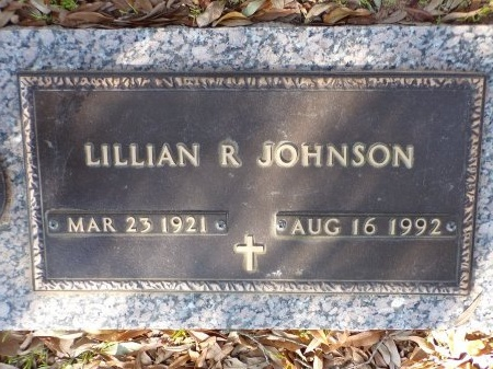 JOHNSON, LILLIAN INEZ - Bossier County, Louisiana | LILLIAN INEZ JOHNSON - Louisiana Gravestone Photos