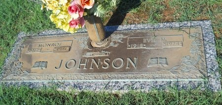 JOHNSON, EVIE M - Bossier County, Louisiana | EVIE M JOHNSON - Louisiana Gravestone Photos
