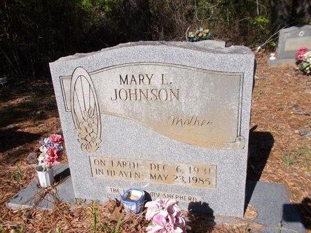 JOHNSON, MARY L - Bossier County, Louisiana   MARY L JOHNSON - Louisiana Gravestone Photos