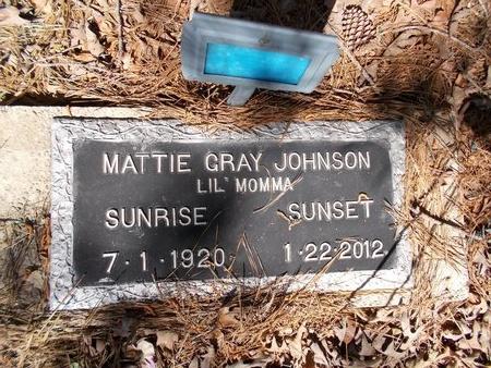 JOHNSON, MATTIE - Bossier County, Louisiana | MATTIE JOHNSON - Louisiana Gravestone Photos