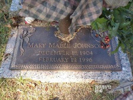 JOHNSON, MARY MABLE - Bossier County, Louisiana | MARY MABLE JOHNSON - Louisiana Gravestone Photos