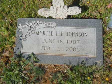 JOHNSON, MYRTLE LEE - Bossier County, Louisiana | MYRTLE LEE JOHNSON - Louisiana Gravestone Photos