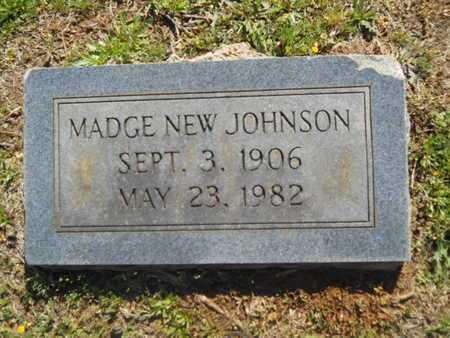 JOHNSON, MADGE - Bossier County, Louisiana | MADGE JOHNSON - Louisiana Gravestone Photos
