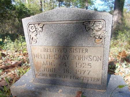 JOHNSON, NELLIE - Bossier County, Louisiana | NELLIE JOHNSON - Louisiana Gravestone Photos