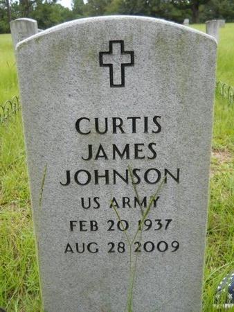 JOHNSON, CURTIS JAMES (VETERAN) - Bossier County, Louisiana | CURTIS JAMES (VETERAN) JOHNSON - Louisiana Gravestone Photos