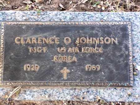 JOHNSON, CLARENCE O (VETERAN KOR) - Bossier County, Louisiana | CLARENCE O (VETERAN KOR) JOHNSON - Louisiana Gravestone Photos