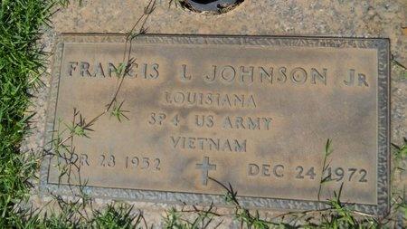 JOHNSON, FRANCIS L, JR (VETERAN VIET) - Bossier County, Louisiana | FRANCIS L, JR (VETERAN VIET) JOHNSON - Louisiana Gravestone Photos