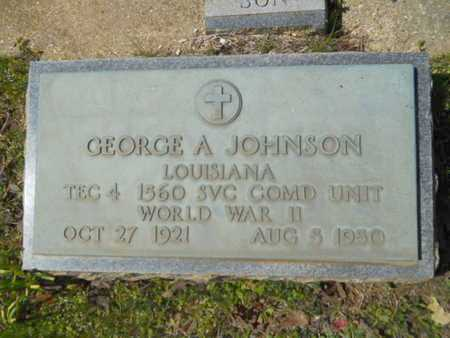JOHNSON, GEORGE A (VETERAN WWII) - Bossier County, Louisiana | GEORGE A (VETERAN WWII) JOHNSON - Louisiana Gravestone Photos
