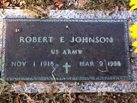 JOHNSON, ROBERT E (VETERAN) - Bossier County, Louisiana | ROBERT E (VETERAN) JOHNSON - Louisiana Gravestone Photos