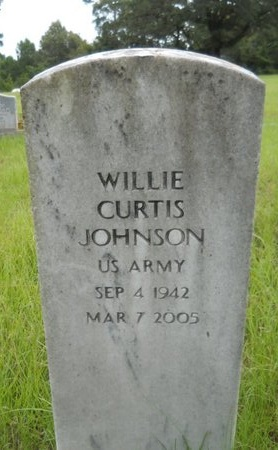 JOHNSON, WILLIE CURTIS (VETERAN) - Bossier County, Louisiana | WILLIE CURTIS (VETERAN) JOHNSON - Louisiana Gravestone Photos