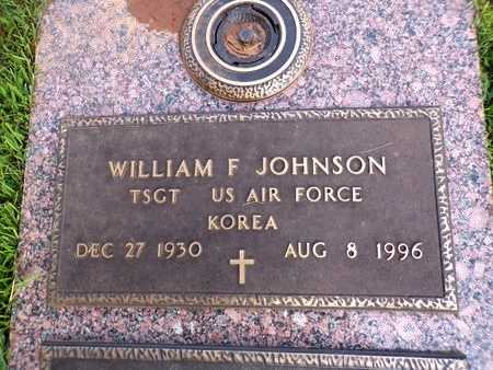 JOHNSON, WILLIAM F (VETERAN KOR) - Bossier County, Louisiana | WILLIAM F (VETERAN KOR) JOHNSON - Louisiana Gravestone Photos