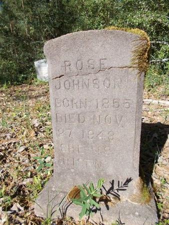 JOHNSON, ROSE - Bossier County, Louisiana | ROSE JOHNSON - Louisiana Gravestone Photos