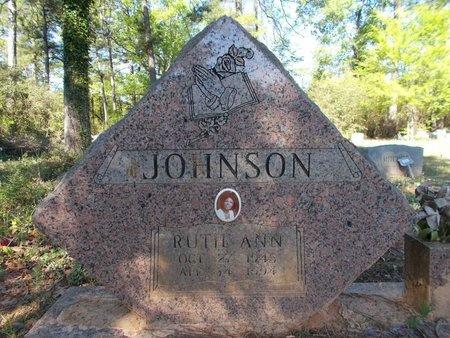JOHNSON, RUTH ANN - Bossier County, Louisiana | RUTH ANN JOHNSON - Louisiana Gravestone Photos