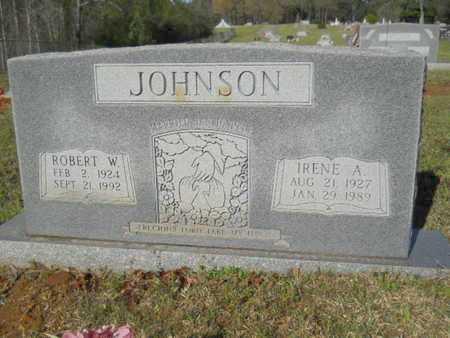 JOHNSON, IRENE A - Bossier County, Louisiana | IRENE A JOHNSON - Louisiana Gravestone Photos