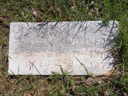 JOHNSON, THELMA - Bossier County, Louisiana | THELMA JOHNSON - Louisiana Gravestone Photos