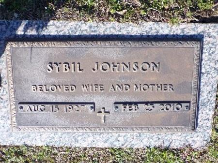 JOHNSON, VELMA SYBIL - Bossier County, Louisiana | VELMA SYBIL JOHNSON - Louisiana Gravestone Photos