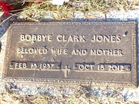 JONES, BOBBYE - Bossier County, Louisiana | BOBBYE JONES - Louisiana Gravestone Photos