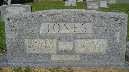 JONES, CHARLIE W - Bossier County, Louisiana | CHARLIE W JONES - Louisiana Gravestone Photos