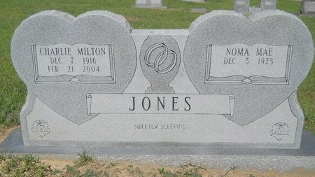 JONES, CHARLIE MILTON - Bossier County, Louisiana | CHARLIE MILTON JONES - Louisiana Gravestone Photos