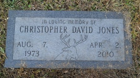 JONES, CHRISTOPHER DAVID - Bossier County, Louisiana | CHRISTOPHER DAVID JONES - Louisiana Gravestone Photos