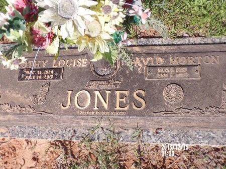 JONES, DAVID MORTON - Bossier County, Louisiana | DAVID MORTON JONES - Louisiana Gravestone Photos
