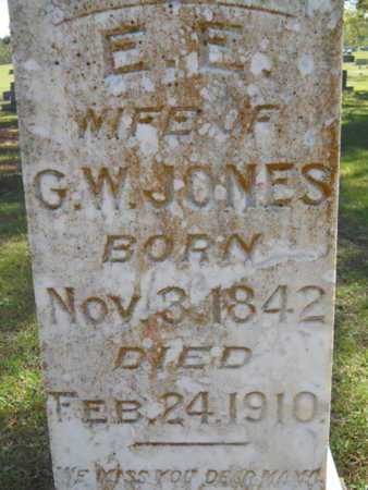JONES, E E (CLOSE UP) - Bossier County, Louisiana   E E (CLOSE UP) JONES - Louisiana Gravestone Photos
