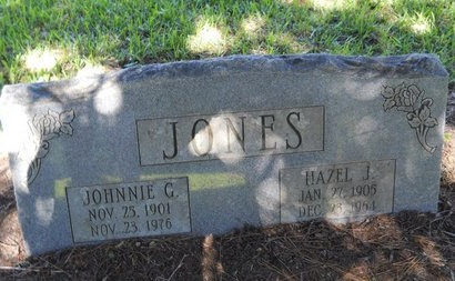 JONES, JOHNNIE G - Bossier County, Louisiana | JOHNNIE G JONES - Louisiana Gravestone Photos