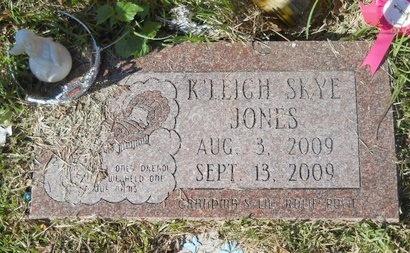 JONES, K'LEIGH SKYE - Bossier County, Louisiana | K'LEIGH SKYE JONES - Louisiana Gravestone Photos