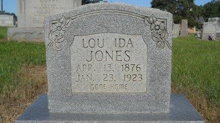 "JONES, LOUISA IDA ""LOU"" - Bossier County, Louisiana | LOUISA IDA ""LOU"" JONES - Louisiana Gravestone Photos"