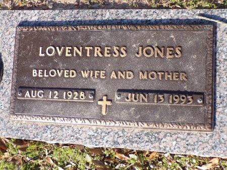 JONES, LOVENTRESS - Bossier County, Louisiana | LOVENTRESS JONES - Louisiana Gravestone Photos