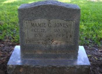 JONES, MAMIE G - Bossier County, Louisiana | MAMIE G JONES - Louisiana Gravestone Photos