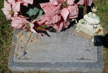 JONES, MARY JOE - Bossier County, Louisiana   MARY JOE JONES - Louisiana Gravestone Photos