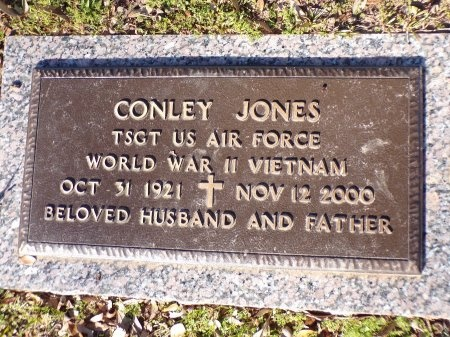 JONES, CONLEY  (VETERAN 2 WARS) - Bossier County, Louisiana | CONLEY  (VETERAN 2 WARS) JONES - Louisiana Gravestone Photos