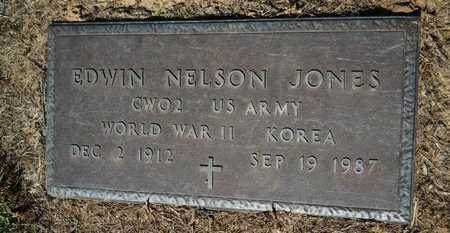 JONES, EDWIN NEWTON  (VETERAN 2 WARS) - Bossier County, Louisiana   EDWIN NEWTON  (VETERAN 2 WARS) JONES - Louisiana Gravestone Photos