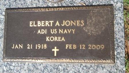 JONES, ELBERT A  (VETERAN KOR) - Bossier County, Louisiana | ELBERT A  (VETERAN KOR) JONES - Louisiana Gravestone Photos