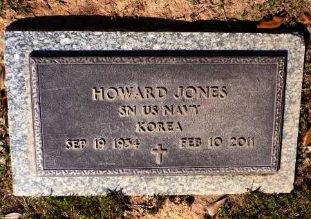JONES, HOWARD  (VETERAN KOR) - Bossier County, Louisiana | HOWARD  (VETERAN KOR) JONES - Louisiana Gravestone Photos