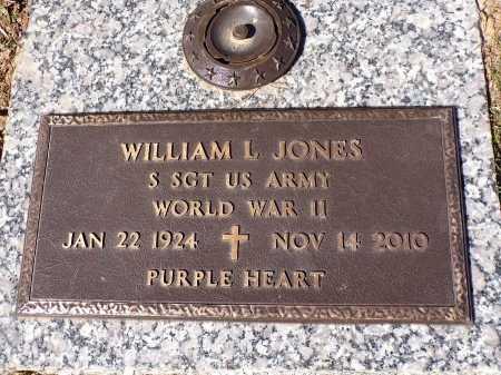 JONES, WILLIAM L (VETERAN WWII) - Bossier County, Louisiana | WILLIAM L (VETERAN WWII) JONES - Louisiana Gravestone Photos