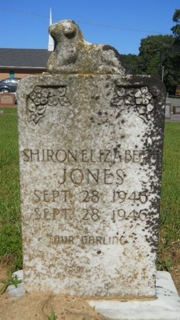 JONES, SHIRON ELIZABETH - Bossier County, Louisiana | SHIRON ELIZABETH JONES - Louisiana Gravestone Photos