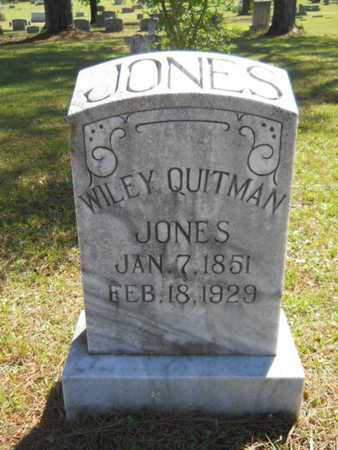 JONES, WILEY QUITMAN - Bossier County, Louisiana   WILEY QUITMAN JONES - Louisiana Gravestone Photos