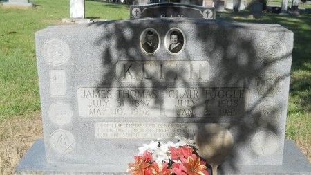 TUGGLE KEITH, CLAIR - Bossier County, Louisiana | CLAIR TUGGLE KEITH - Louisiana Gravestone Photos