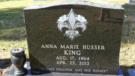 KING, ANNA MARIE - Bossier County, Louisiana   ANNA MARIE KING - Louisiana Gravestone Photos