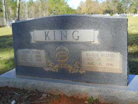 KING, AUBREY O'NEIL - Bossier County, Louisiana | AUBREY O'NEIL KING - Louisiana Gravestone Photos